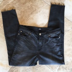 Hudson cropped jeans